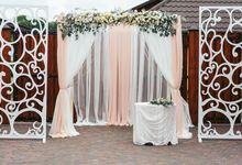 Laeacco занавеска цветок фотография фон для свадебной вечеринки