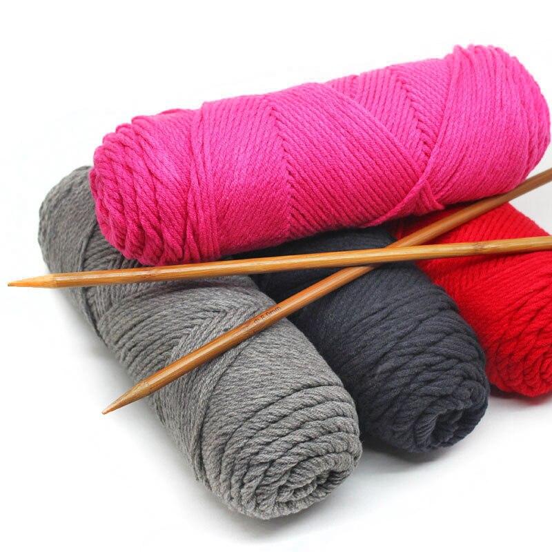 10pcs=1.5KG Wholesale Cheap Yarn Cotton Blended Wool Yarn For Knitting Scarf Super Thick Crochet Yarn Fine Organic