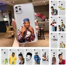 Taze prens bel hava telefon kılıfı iPhone X XS MAX 6 6s 7 7 artı 8 8 artı 5 5S SE 2020 XR 11 11pro max temizle funda kapak