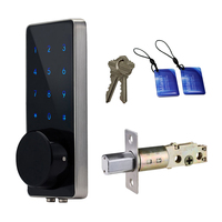 Zinc Alloy Electronic Digital Door Lock,Smart Keypad Code Keyless Entry Security Door Lock,Password Keyless Door Lock Electronic