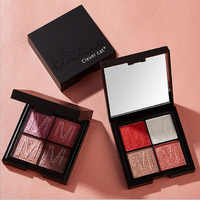 4 colors stereoscopic Eye shadow pallete High light Soft and smooth eyeshadow palette waterproof sweatproof makeup