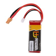 цена на 1100MAH 11.4V 50C 3S XT30 plug Lipo Battery For FPV RC Drone Spare Parts Replace Rechargeable Batteries