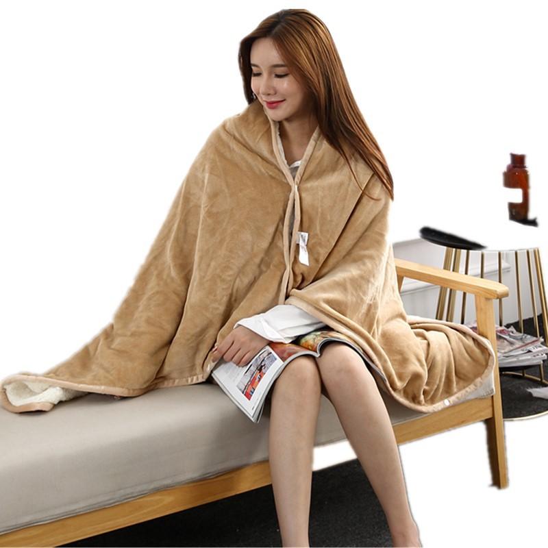 Flannel Blanket Hoodie Travel Totoro Blanket Soft Fuzzy Fluffy Blankets Sweatshirt Solid Winter Warm Fleece TV Blankets for Beds 9