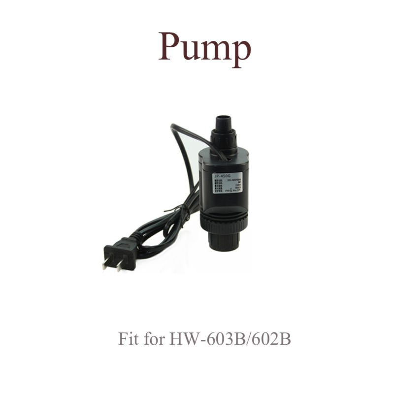 For HW-602B/HW-603B Aquarium Filter External Parts Inlet Outlet Tube Water Pump