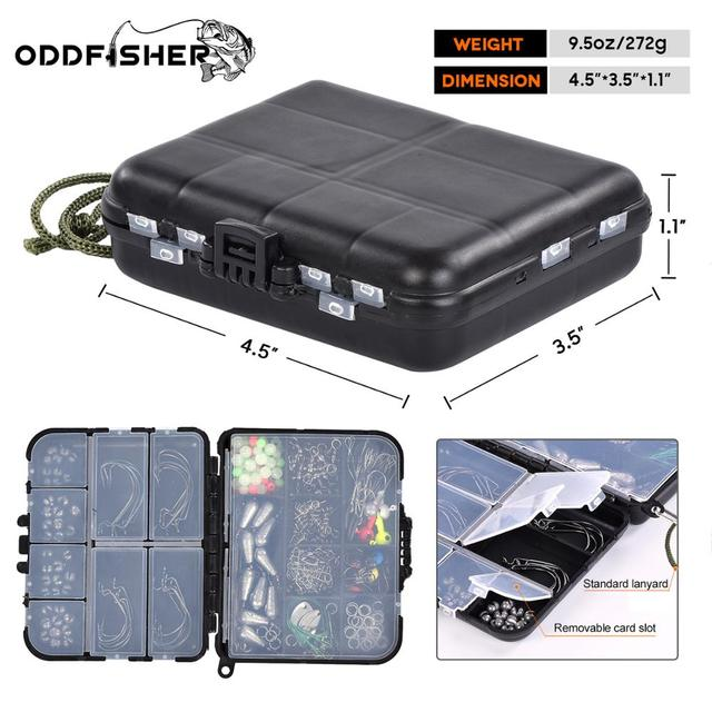 246pcs/box Fishing Tackles Box Accessories Kit Set Hooks Beads Swivels Snap Sinker Weight Terminal For Carp Bait