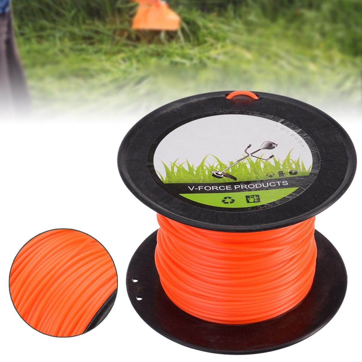 1Pcs 90m Brush Cutter/Strimmer Line/Trimmer Nylon/Cord Line Round 3mm Garden Supplies Grass Trimmer