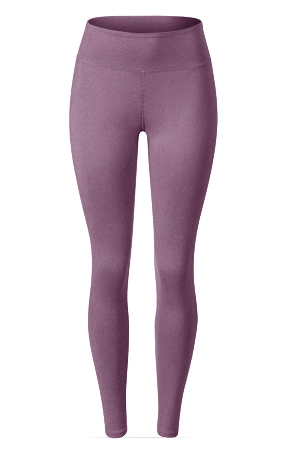 Waisted Leggings - 25 Colors - Super Full Length Opaque Slim2019 CoolMax  Bamboo Fiber  Cotton