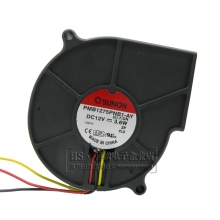 Original For Sunon 7CM blower built quasi 7530 12V 3.6W turbine fan PMB1275PNB1-AY+cooling fan
