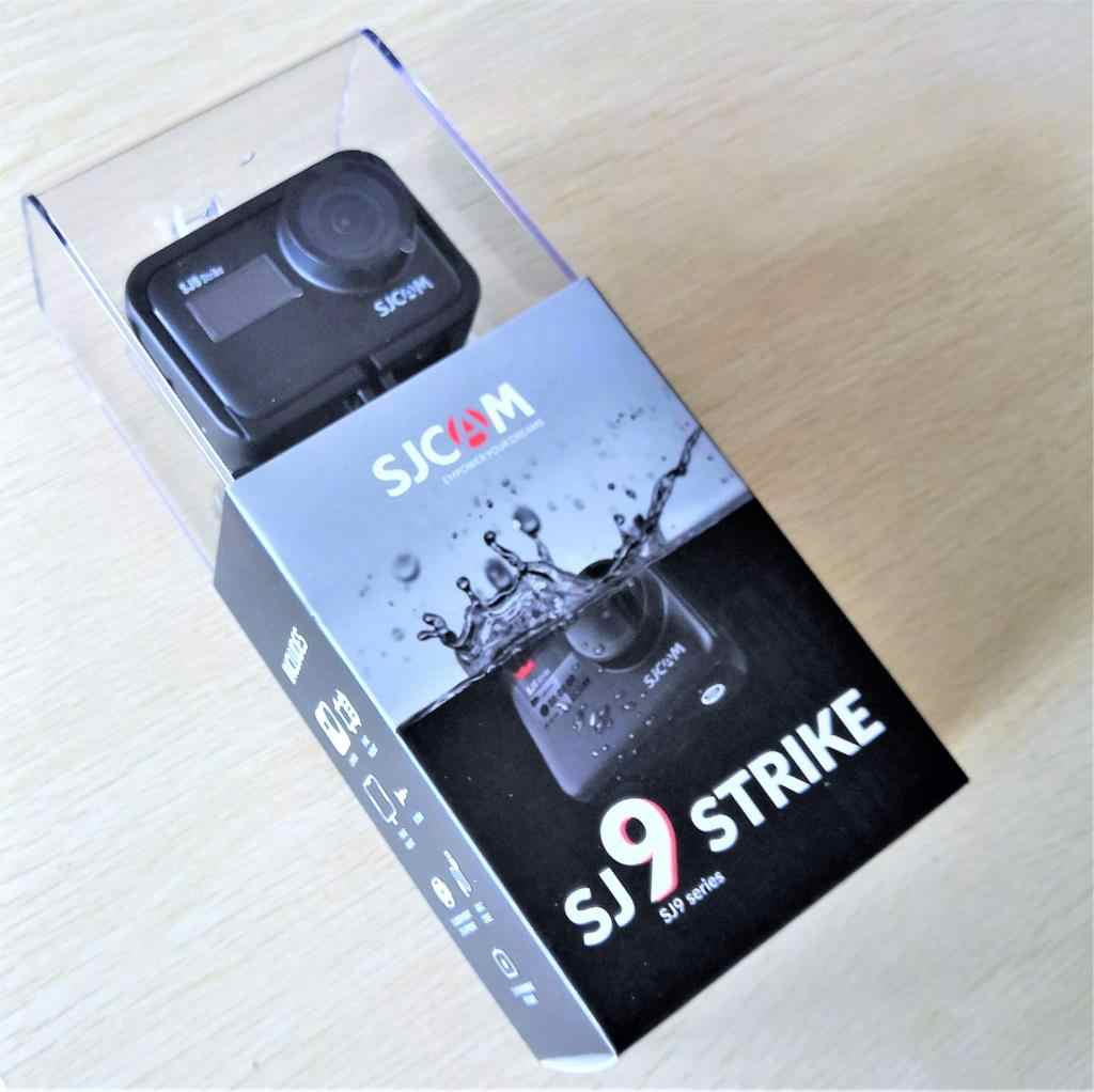 SJCAM SJ9 Strike Gyro/Eis Supersmooth 4K 60FPS Wifi Remote Action Camera Ambarella Chip Charger Nirkabel 10 M tubuh Tahan Air DV