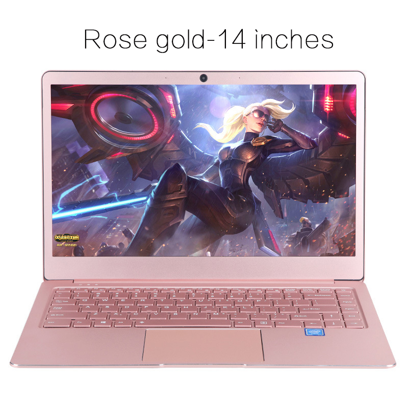 Laptop 14 Inch Notebook Computer Ips Screen Gaming Laptop With Windows 10 Os Ultrabook All Metal Student Laptop Free Shipping Gamepads Aliexpress