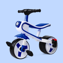 Большой детский трехколесный велосипед, Детский самокат, Легко складывающаяся тележка, трехколесная коляска, детский велосипед, форма колеса с полетом