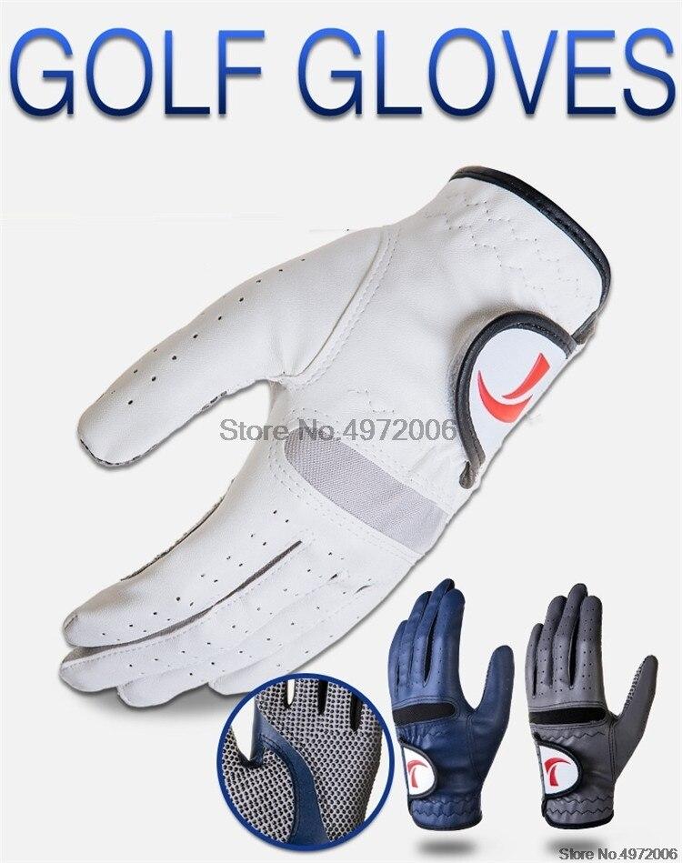 luvas de golfe dedos completos respirável luvas