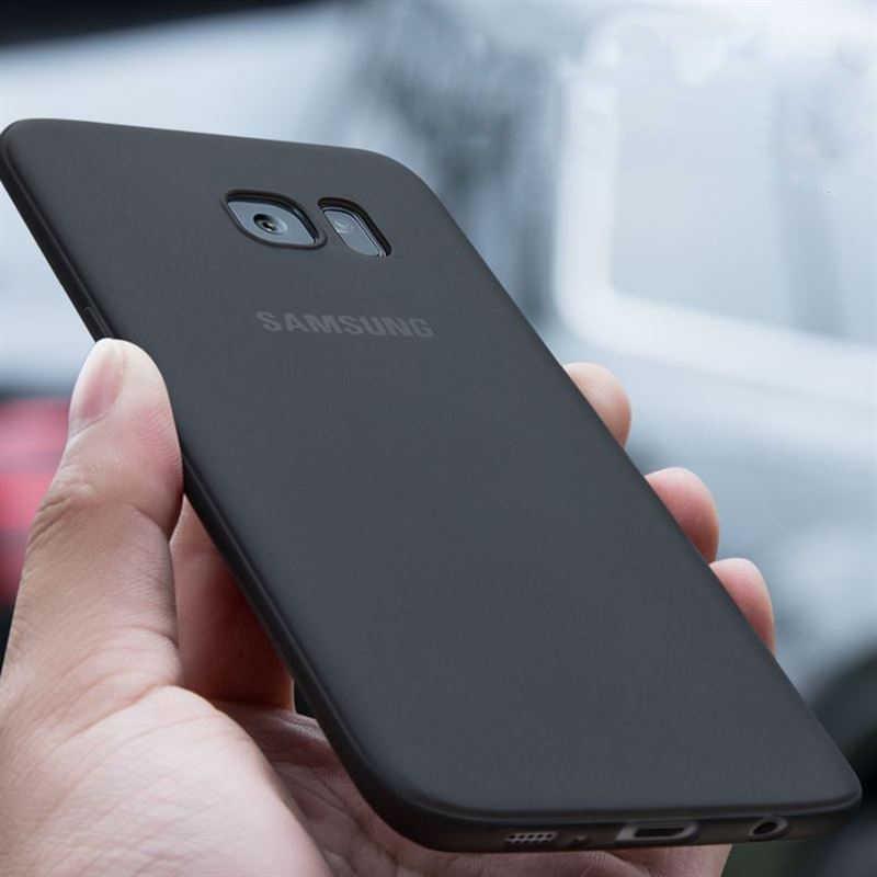 Ultra Ince Fırçalama Yumuşak Silikon TPU samsung kılıfı Galaxy A7 A8 A6 S8 S9 Artı J4 J6 2018 S6 S7 Kenar j3 J5 J7 A3 A5 A7 2016 2017