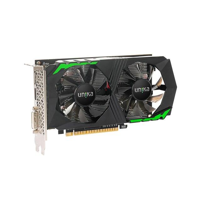Barato duplo ventilador refrigerando geforce gtx 1050 ti 4gb ddr5 gráficos cartões de jogo 4