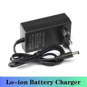 Image 4 - Lithium Battery Charger DC 5.5 * 2.1MM 21V 1A 8.4V 2A 16.8V 2A 18650 EU/US Plug 100 240V Lithium Li ion Battery Wall Charger