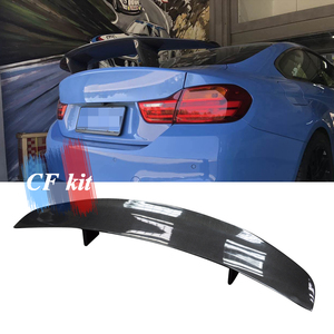 CF Kit PSM GT Style Real Carbon Spoiler Wing Fiber For BMW M2 M4 F32 F87 F82 Rear Trunk Lip Car Styling(China)