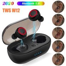 Wireless Bluetooth 5.0 Earphone Sport Handfree Touching Controller Charging Box