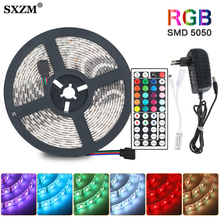RGB Flexible LED Strip Light SMD 5050 2835 RGB Ribbon fita
