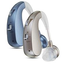 Mini Wireless Behind The Ear Rechargeable Digital Sound Amplifier Earphone Intelligent Noise Reduction Safe Charging