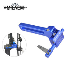 1pc Archery Arrow Rest Quality Stainless Steel Shooting Hunting Accessories Compound Bow Equipment