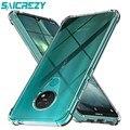 Мягкий Силиконовый противоударный Прозрачный чехол для телефона для Nokia 7,2 6,2 4,2 3,2 2,2 5,4 3,4 2,4 1,3 2,3 5,3 7,3 8,3 3,1 5,1 6,1 плюс 7,1 8,1 крышка
