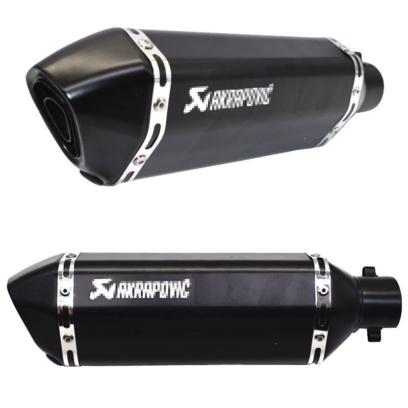 Image 3 - Бесплатная доставка 51 мм akrapovic глушитель для мотоцикла escape moto с дБ убийца выхлопных систем для honda Бенелли msx125 nmax-in Выхлопные трубы и системы from Автомобили и мотоциклы