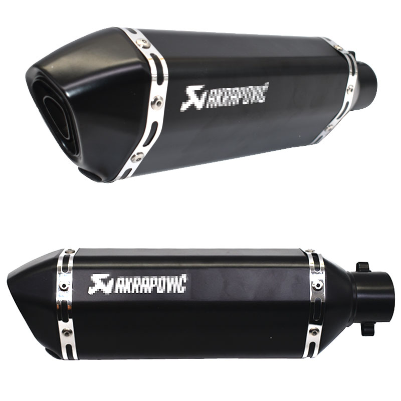 Image 3 - Universal akrapovic exhaust motorcycle muffler escape moto with db killer Exhaust Systems for honda benelli msx125 nmax155-in Exhaust & Exhaust Systems from Automobiles & Motorcycles