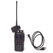 AT D878UV Anytone PLUS talkie walkie bibande numérique DMR et analogique GPS APRS bluetooth PTT radio bidirectionnelle avec câble PC