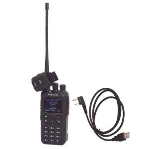 Image 1 - Anytone AT D878UV زائد هام لاسلكي تخاطب ثنائي النطاق الرقمية DMR و التناظرية لتحديد المواقع APRS بلوتوث PTT اتجاهين راديو مع كابل الكمبيوتر