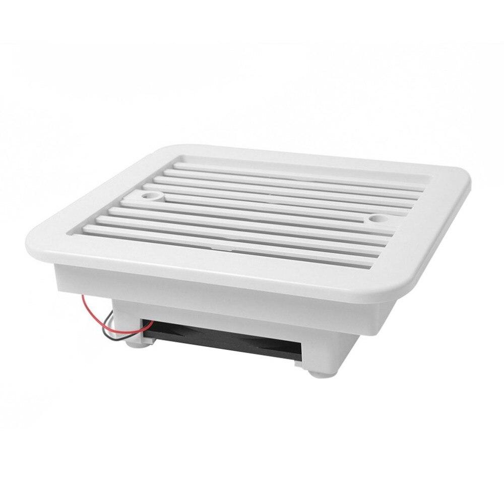 caravan lado ventilação ar ventilação lâmina ventilador branco 1 conjunto