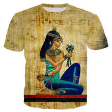 Funny pharaohs t shirts men women Arthur 3D printing t shirts Short sleeve Harajuku style tshirt(China)