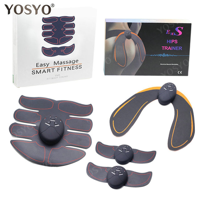 EMS Hip Trainer Muscle Stimulator ABS Fitness Buttocks Butt Lifting Buttock Toner Trainer Slimming Massager Unisex 2
