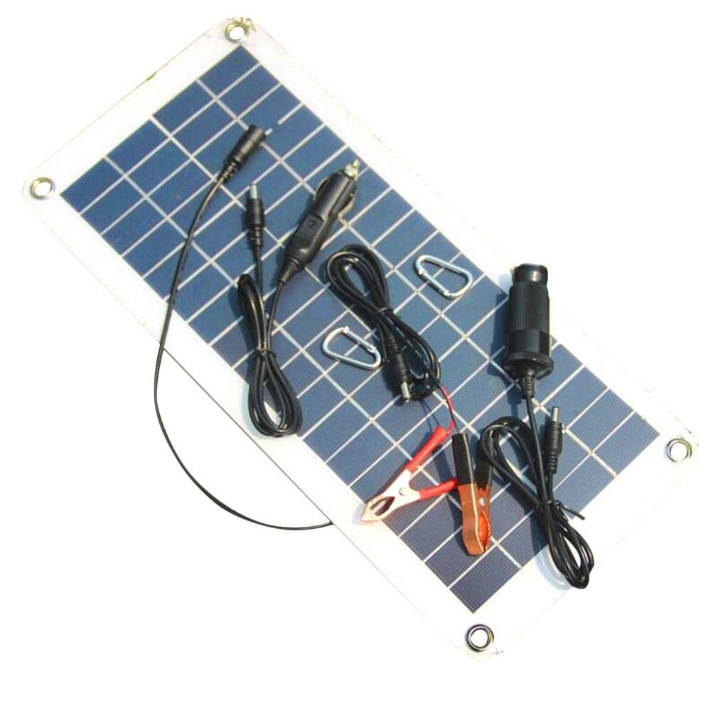 Carregador do painel solar do uso duplo