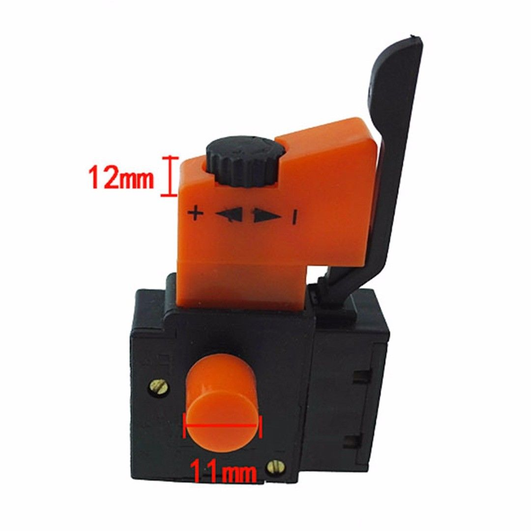 Adjustable Speed Switch 250V FA2 4/1BEK Lock On Power Electric Hand Drill Control Trigger Switches Electrical Accessories