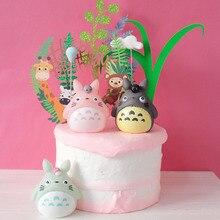 1 шт. каваи Тоторо торт украшения свадьба день рождения принадлежности для выпечки прекрасные подарки товары для украшения торта