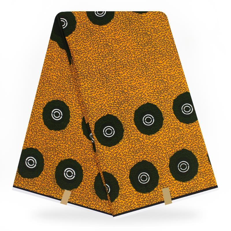 Veritable Wax Veritable Guaranteed Real Dutch Wax 6yard/lot 2020 100% Cotton Veritable Wax High Quality African Fabric Print A