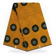 Veritable Wax Guaranteed Real Dutch 6yard/lot 2020 100% Cotton High Quality African Fabric Print A