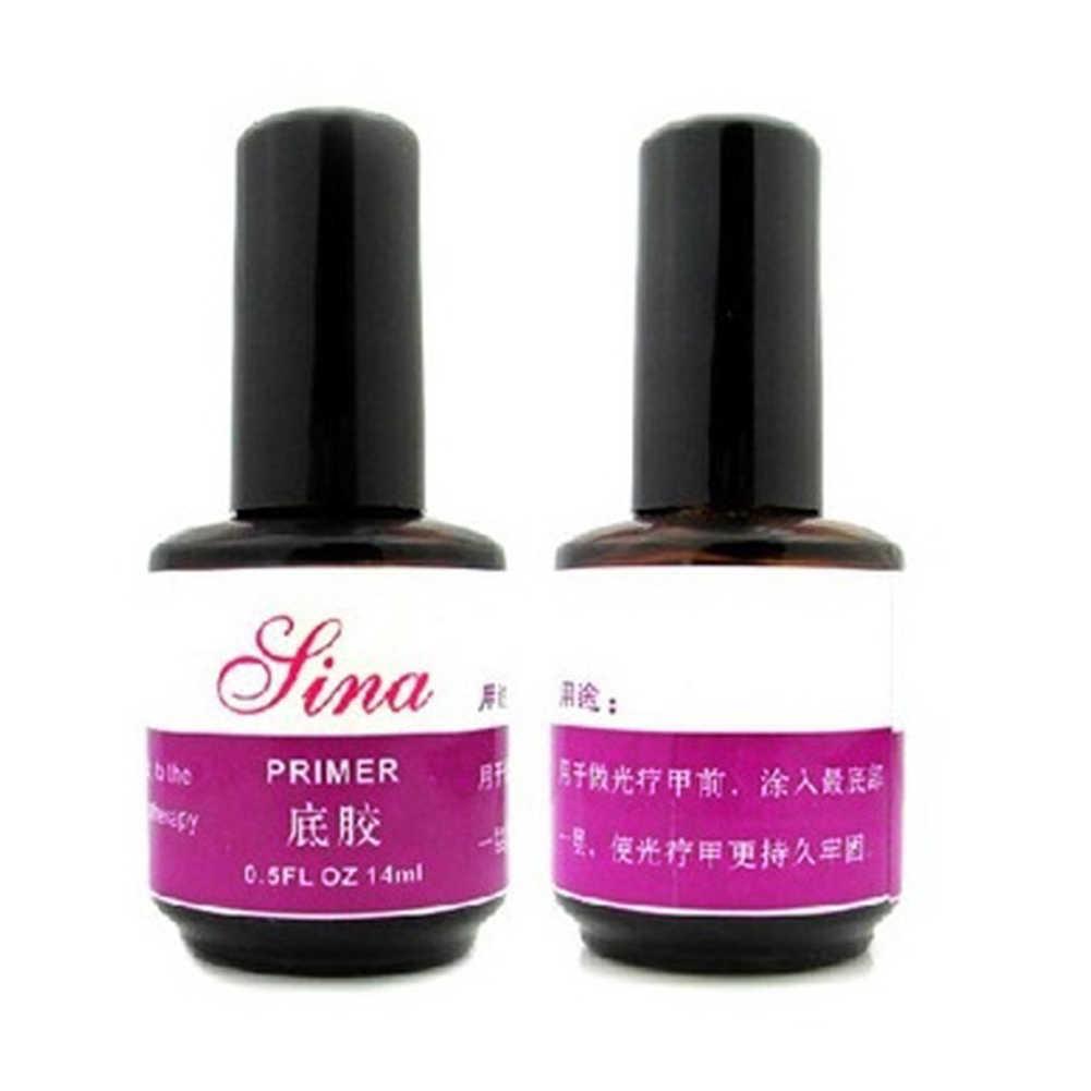 14ml UV imprimación Base Gel capa superior Pro Nail Art acrílicos 18ml Dessicant lo más nuevo