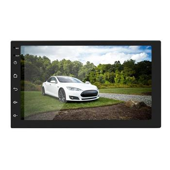 """2 DIN 7"""" HD Touch Screen Android 8.1 1G+16G Car Stereo bluetooth 4.0 WIFI 12V FM Radio GPS Navigation MP5 Multi-Media Player"""