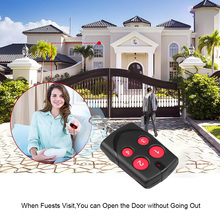 Hot Multi Frequency Copy RF 270 868mhz Rolling Code For Garage Door Remote Control Duplicator Fixed Code Remote Controller