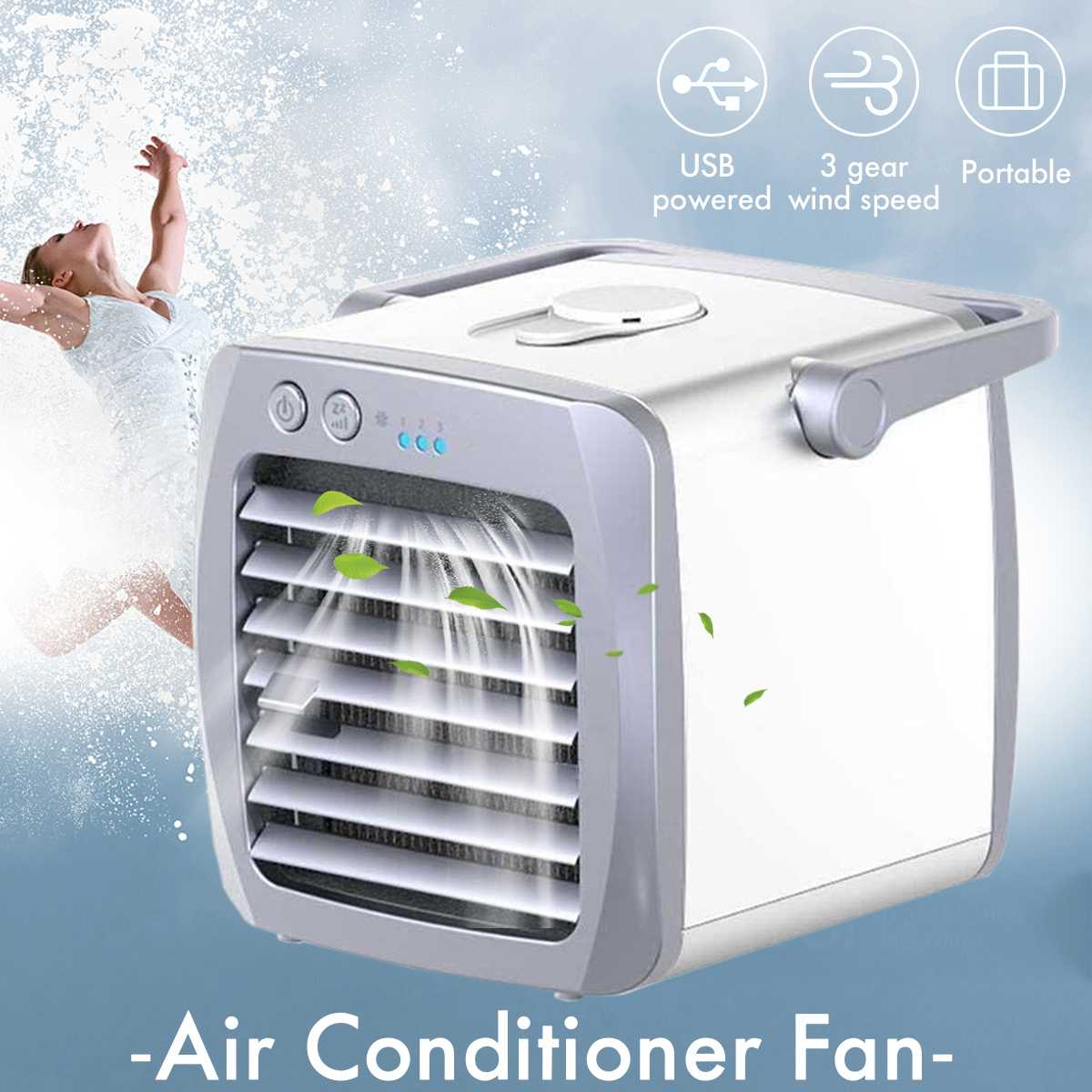 Air Cooler Arctic Air Personal Space Cooler Mini USB Fan Water Cooling Space Air Conditioner Fan Device Home Office Desk