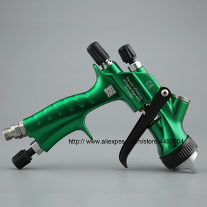 Image 3 - Hohe Qualität Spray Gun Gravity Spritzpistole 1,3mm Düse 600cc Kunststoff Topf Ideal Auto Malerei Werkzeug