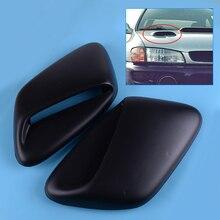 DWCX 2 шт. черный Пластик капюшон сброса индукции овальным подходит для Subaru, автомобильные аксессуары, брелок для автомобиля Subaru 1999 2000 2001 GC8 STI WRX 2.5RS