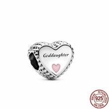 2020 chegada nova authentic 925 prata esterlina joaninha charme contas caber pulseira pandora originais contas diy jóias fazendo