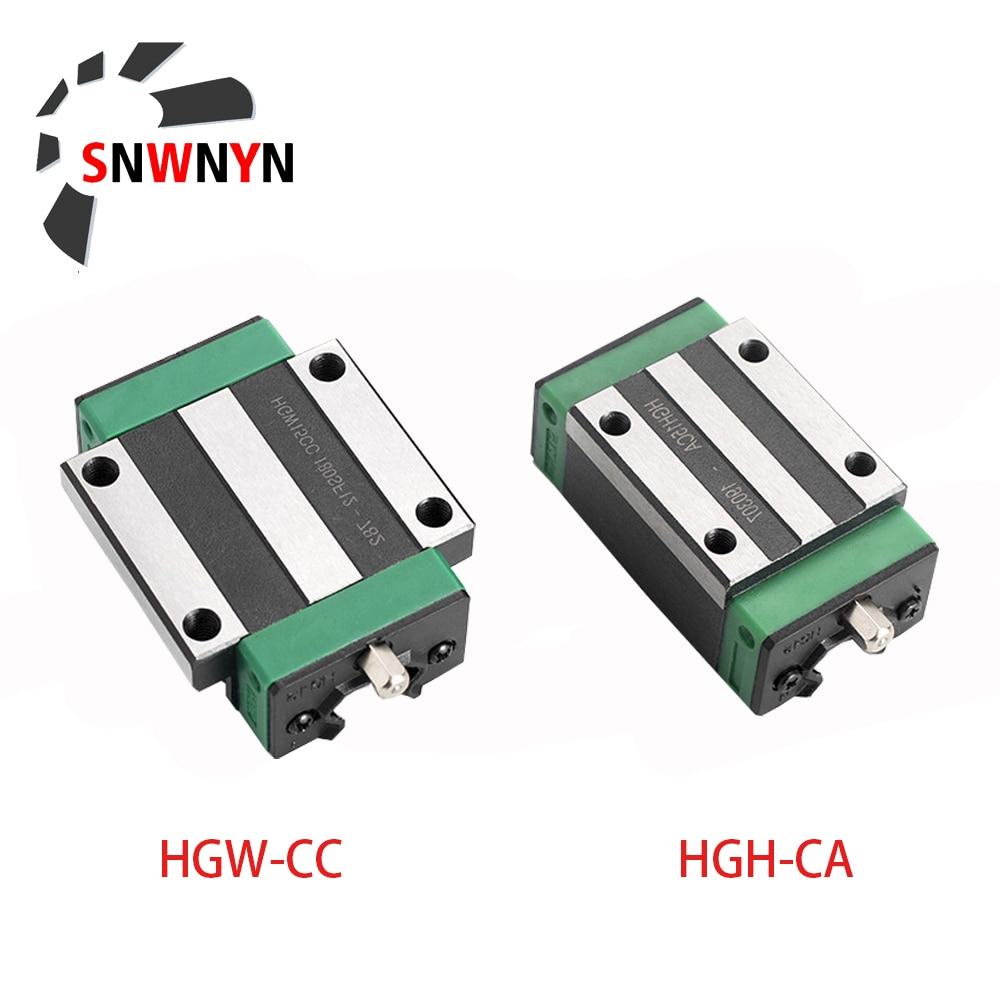 Линейный направляющий блок hgh15ca hgw15cc hgh20ca hgw20cc hgh25ca