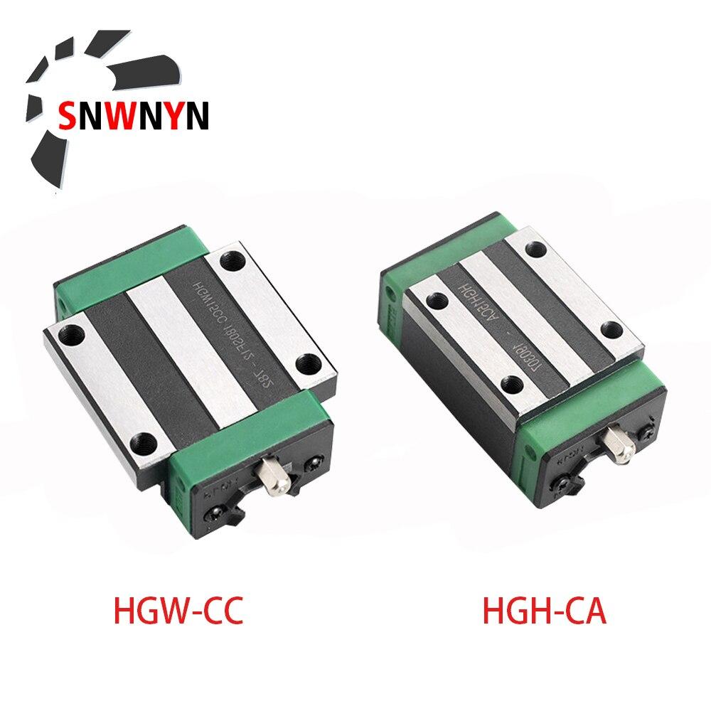 Купить линейный направляющий блок hgh15ca hgw15cc hgh20ca hgw20cc hgh25ca
