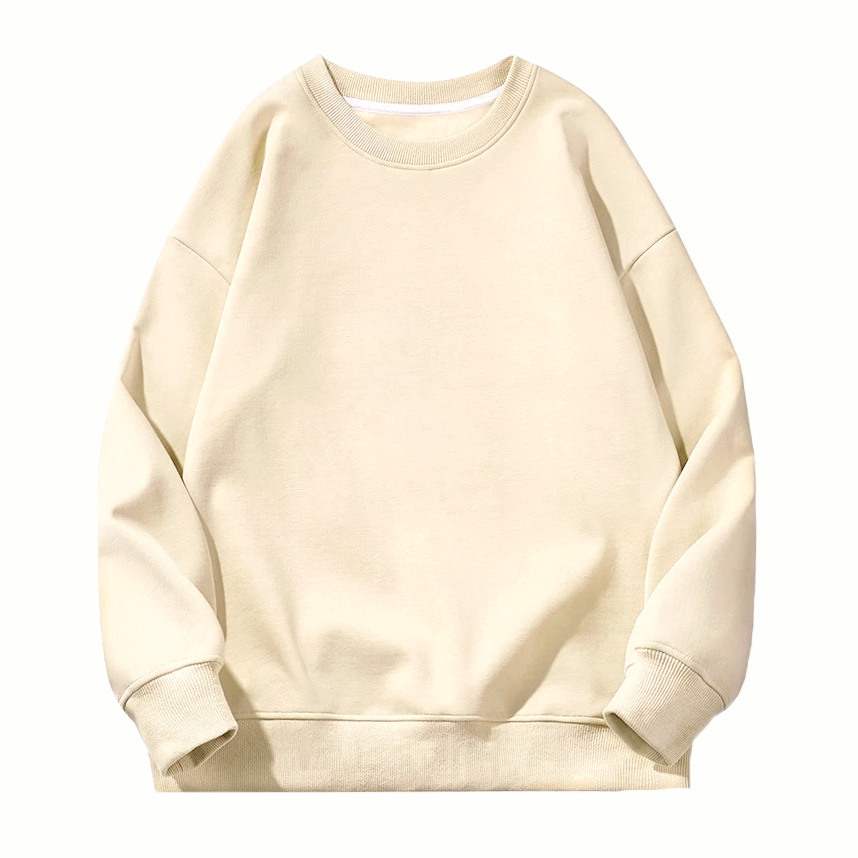 Sweatshirt 1-Beige