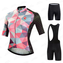 New 2021 Pro Women Cycling Set MTB Bike Clothing Women's Racing Bicycle Clothes Ropa Ciclismo Cycling Wear Cycling Jersey Set