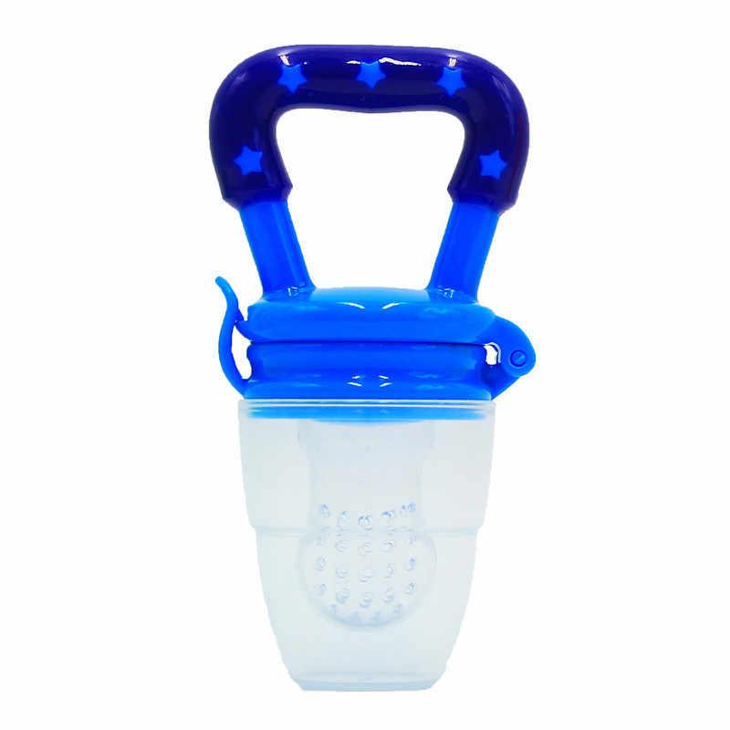 Cuidado Bucal 4-12M 1 pieza bebé Mordedor para niña tetina fruta alimentos Mordedor silicona seguridad alimentador Mordedor alimentos tetina