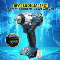 18V Electric Rechargeable Brushless Impact Wrench Cordless 1/2 Socket Wrench Car Repair Power Tools For Makita Battery DTW285Z